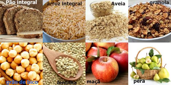 alimentos possuem Fibras alimentares