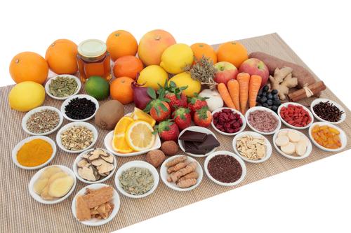 alimentos com muitas fibras
