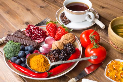 Alimentos ricos emantioxidante
