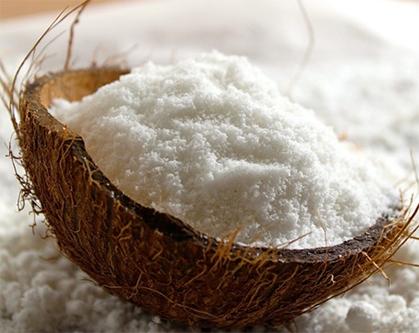 farinha à base de coco