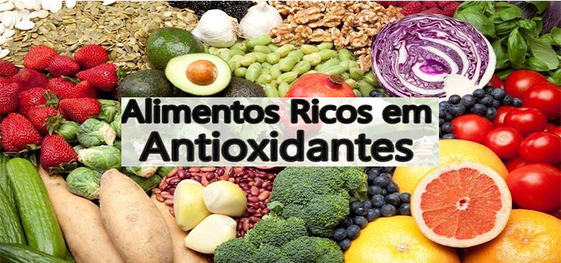 O que são Antioxidantes, e Onde Encontrar nos Alimentos.