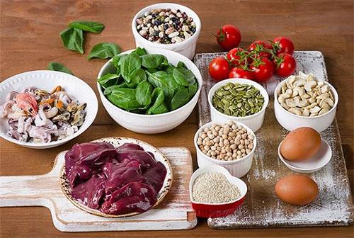 Principais alimentos ricos em Ferro