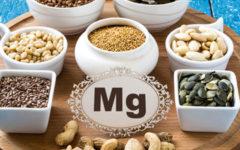 Magnésio para que serve e onde encontra nos alimentos.