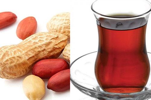 Receitas de Chá de Amendoim