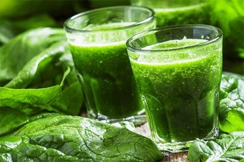 Suco verde Beneficios