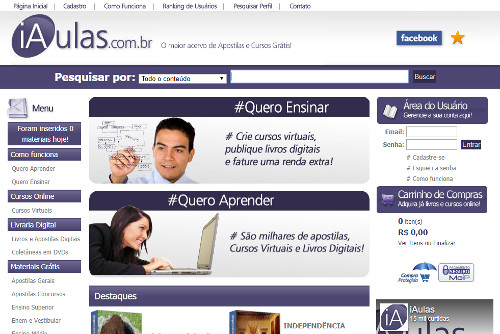 iaulas cursos online