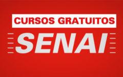 Cursos gratuitos online SENAI – Várias Áreas