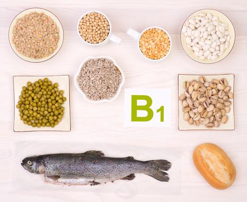 Alimentos que contêm tiamina
