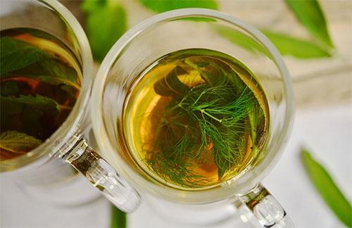 Chá de Erva Doce Indicação