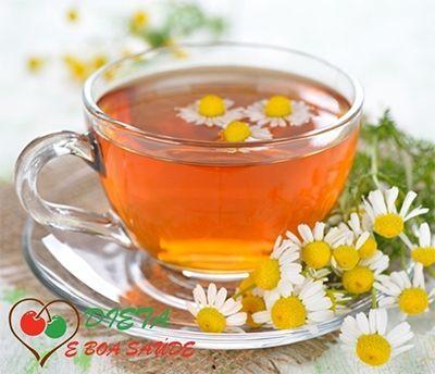 Chá de camomila para que serve