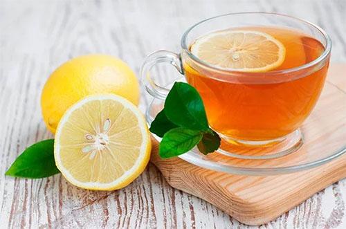 Receita de Chá de Folha de Limão