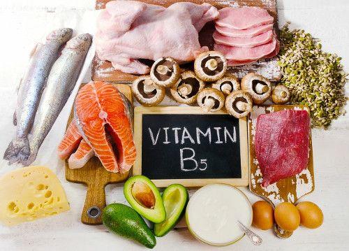 Vitamina b5: Alimentos