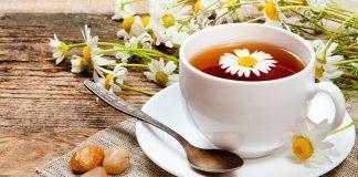 chá de camomila como fazer
