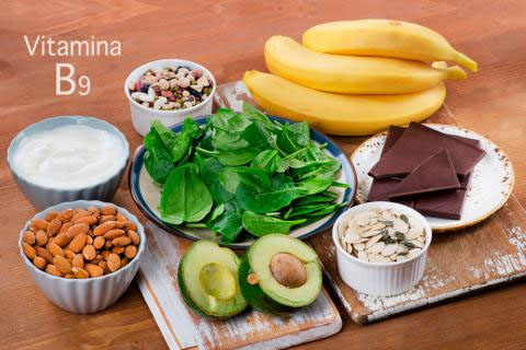 vitamina b9 beneficios