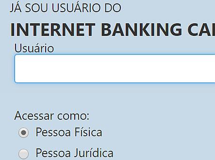caixa internet banking