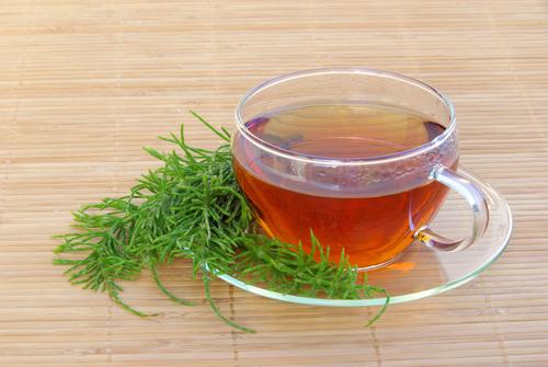 chá de cavalinha como fazer