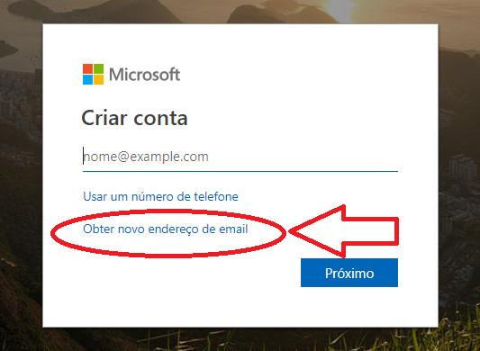 como abrir- hotmail