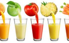 Receitas de sucos naturais e seus benefícios.