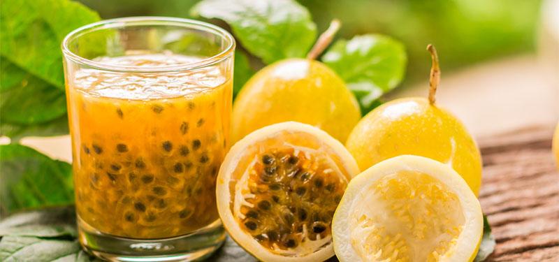 Suco de Maracujá: benefícios e nutrientes.
