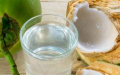 Água de coco: benefícios para a saúde.