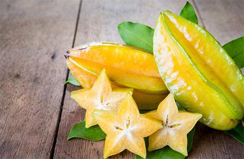 benefícios da fruta carambola